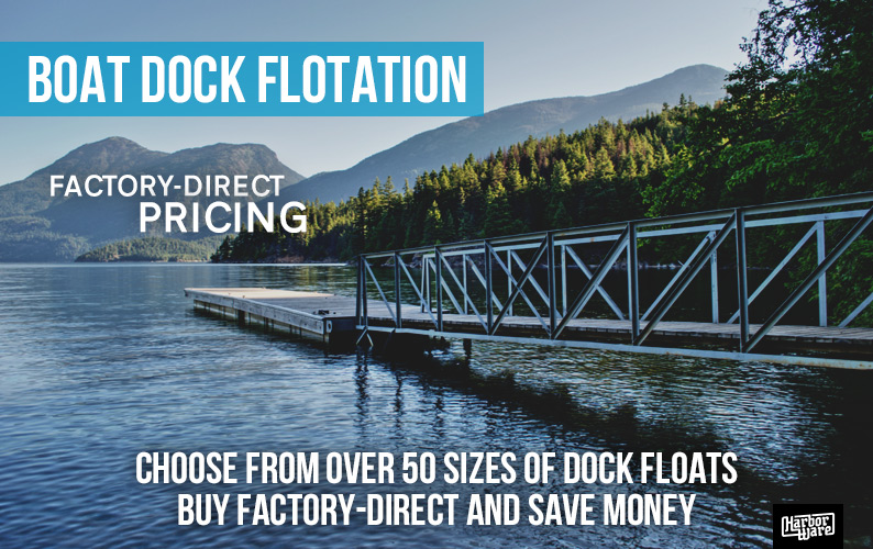 Dock Floats and Float Drums